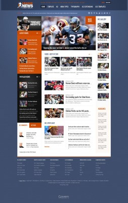 gk-league-news---template-joomla