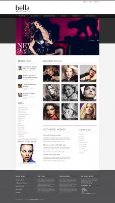 hot-model-agency---template-joomla