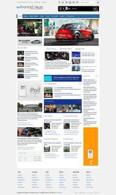js-financial-news---template-joomla